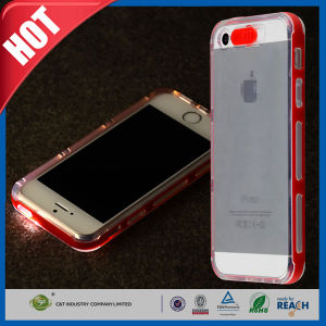 LED Light up Case Uses Flash for iPhone 5s pictures & photos