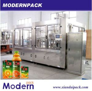 3 in 1 Fuit Juice Drink Filling Machine pictures & photos
