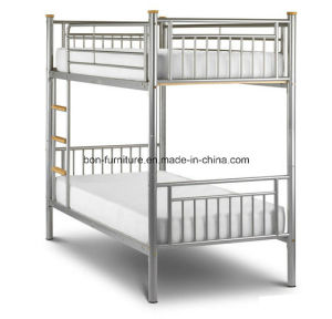 Bunk Bed Finished by Powder Coated Metal Material pictures & photos