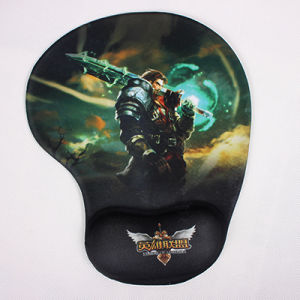 Legends League Gel Mouse Pad with Wrist Rest