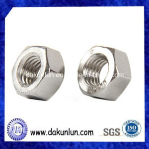 Customized Stainless Steel Hex Nut From Chinese Supplier pictures & photos
