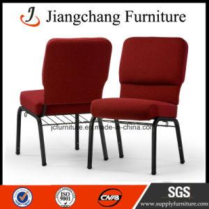 Popular High Quality Red Fabric Church Hall Chair (JC-JT03)