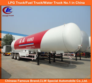 ASME Standard 60, 000 Liters LPG Cooking Gas Tanker Truck Trailer 30mt for Sale pictures & photos