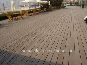 Hollow Wood Board Composite Lumber Decking Light Weight WPC Deck Wholesale pictures & photos