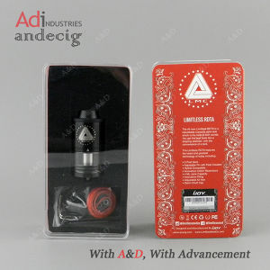 Easy Build Two Post Deck Rebuildable Atomizer Black Limitless Rdta Ijoy pictures & photos