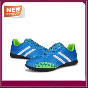 High Quality Soccer Shoes Breathable Football Boots pictures & photos