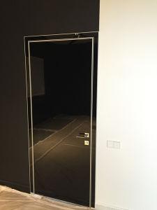 Fireproof Entry Door, White Swing Door, Glossy Bedroom Door pictures & photos