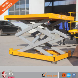 1-100t Load (customized) Hydraulic Stationary Goods Lift for Crane pictures & photos