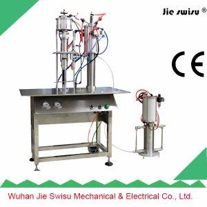 Combined 2 in 1 Table Semi-Automatic Aerosol Filling Machine