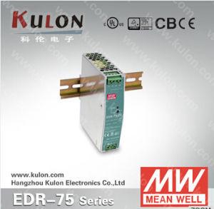 Mean Well Power Supply EDR-75 12V 24V 48V Slim Design DIN Rail Power Supply