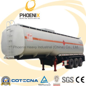 Tri Axle 40000 Liters to 60000 Liters Fuel Oil Tank pictures & photos