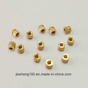 Non-Standard Knurled Brass Nut