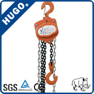 1ton Manual Chain Hoist Hand Lifting Block pictures & photos