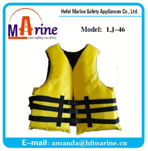 Yellow Color 50n Standard Boating Life Vest pictures & photos