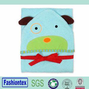 Luvable Friends Terry Towel Bath Towel 100% Cotton Child Hooded Towel pictures & photos