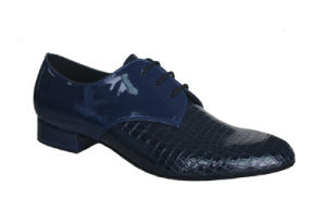 Blue Crocodile Men′s Tango/Ballroom Dance Shoes pictures & photos