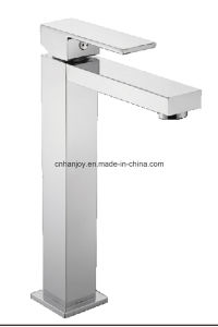 Deck Mounted Single Handle Basin Tap (H18-103) pictures & photos
