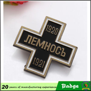 Bronze Material Pin Badges for Business Gift pictures & photos