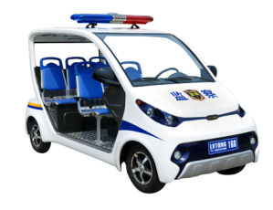 4 Seats Utility Cart for Police Use pictures & photos