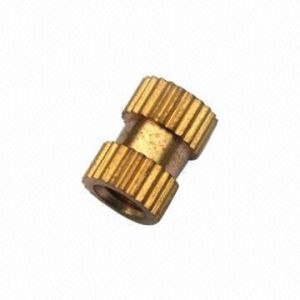 Customized Brass Knurled Nut pictures & photos
