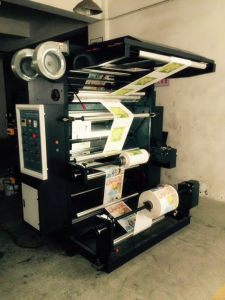 Plastic Flexo Shopping Bag Printing Press Price pictures & photos