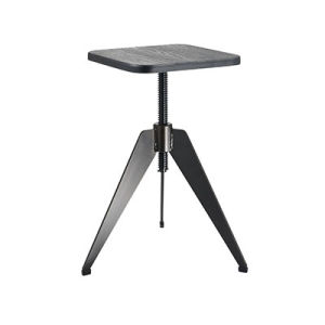 High Quality Black Color Metal Square Industrial Bar Stool (FS-Scew14035-square) pictures & photos