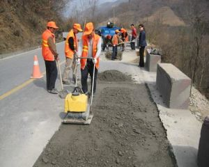 Vibrating Plate Compactor for Road Construction pictures & photos
