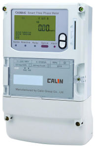 Smart IC Card Three Phase Prepaid Energy Meter pictures & photos