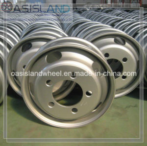 High Quality Steel Wheel Rim 6.00X17.5 for Semi Truck Trailer pictures & photos