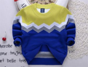 T1209 Children Sweater Pullover Autumn Winter Crochet Sweater Boy Sweaters Kids Pullover Children Clothes Kid Boys Pullover Knitted Shirt pictures & photos