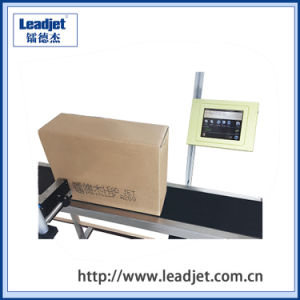 New Design Continuous Inkjet Carton Printer Leadjet A100 pictures & photos