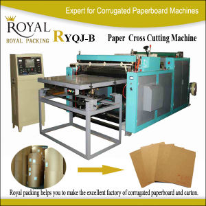 Ryqj-B Paper Sheeting Machine pictures & photos