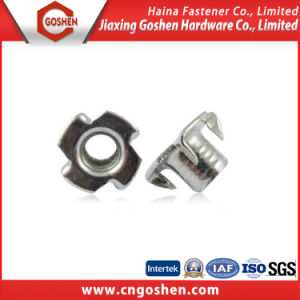 Steel T Head Nut / Four Claw Nut with Zinc-Plated pictures & photos