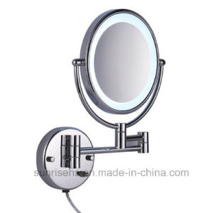 Hot Sale Hotel Wall Mounted Shaving Magnifying Mirror pictures & photos
