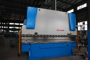 Hydraulic Press Brake Machine Wc67y 300/4000 pictures & photos