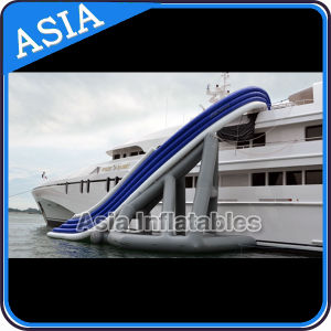 Inflatable Cruiser Slide Custom-Made, Yacht Inflatable Slide with Air Pump for Free pictures & photos