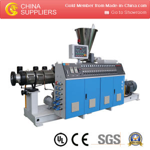 Plastic Extruder Single/Twin Screw Extruder for Profile pictures & photos