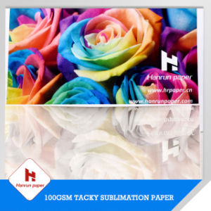 100GSM Anti-Ghost Tacky Sublimation Transfer Printing Paper for Sportswear/Active Wear pictures & photos