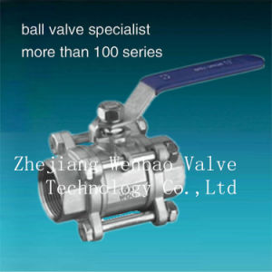 3PC Stainess Steel Floating Ball Valve (BV) pictures & photos