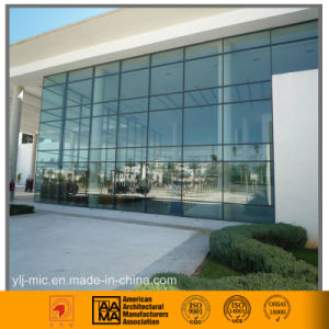 Modern Glass Curtain Wall System with Aluminum Hidden Frame pictures & photos