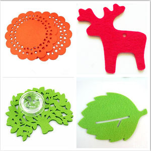 Custom Shape Felt Coaster in Higher Quality and Lower Price pictures & photos