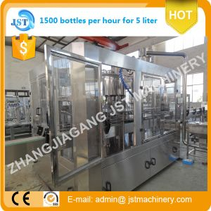 Rotary Aqua Filling Machine for 5 Liter Pet Bottle pictures & photos