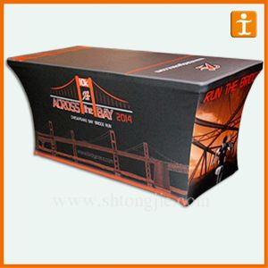 4ft 6ft and 8ft Exhibition Display Table Cloth (TJ-15) pictures & photos