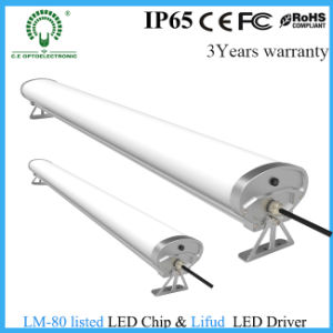40W LED Tri-Proof Light for Industrial Lighting with Free Shipping
