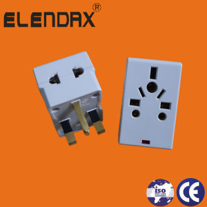 13 a Plug+Adapter with Light pictures & photos