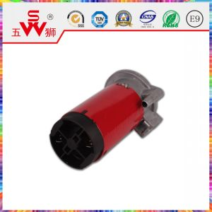 115mm Red Electric Horn Motor for Auto Part pictures & photos