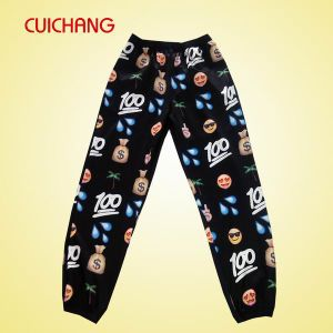 100% Polycotton Fabric Casual Sport Trousers Casual Pants Jogger Pants pictures & photos