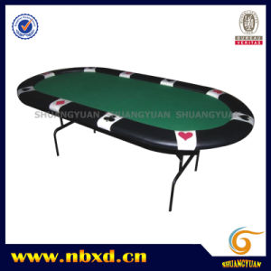 Suited Poker Table with Iron Leg (SY-T07) pictures & photos