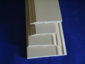 Cutomized Decorative Solid Wood White Primed Baseboard /Skirting for Parquet pictures & photos