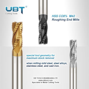 High Performance Roughing End Mills